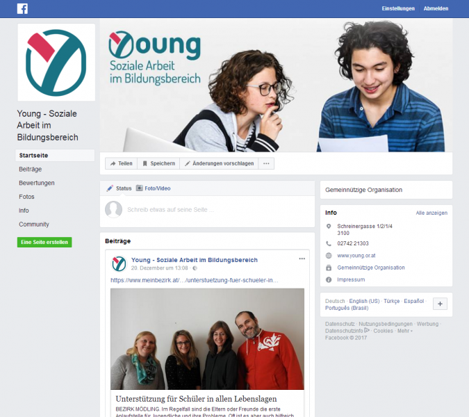 Young Facebook